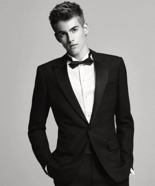 Cindy Crawford's son stars in first solo fashion shoot