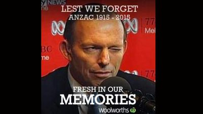Could we forget Prime Minister Tony Abbott's wink?
