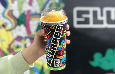 The pumpkin spice latte Slurpee has landed in time for Halloween
