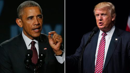 Barack Obama declares Donald Trump 'unfit' to be US president