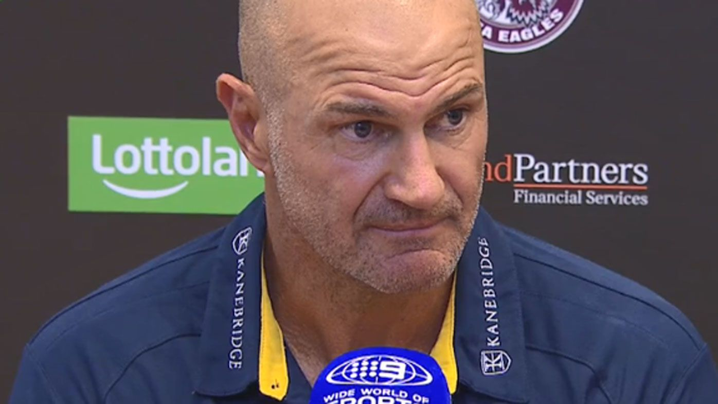 NRL news: Parramatta Eels coach Brad Arthur embarrassed after massive loss to Manly