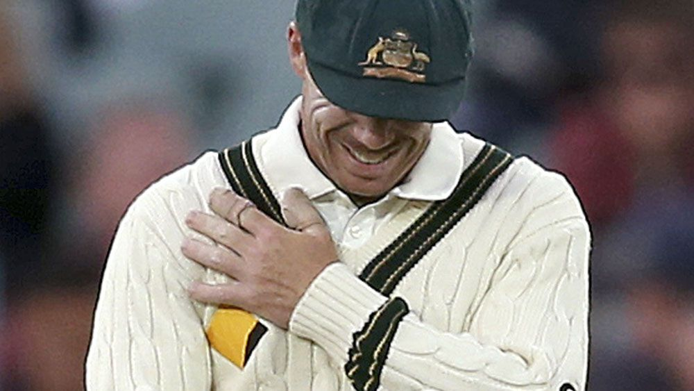 David Warner will feature in the ODI series against New Zealand despite suffering from a shoulder injury. (AAP)