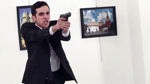 Atlintas immediately after he shot the ambassador dead.