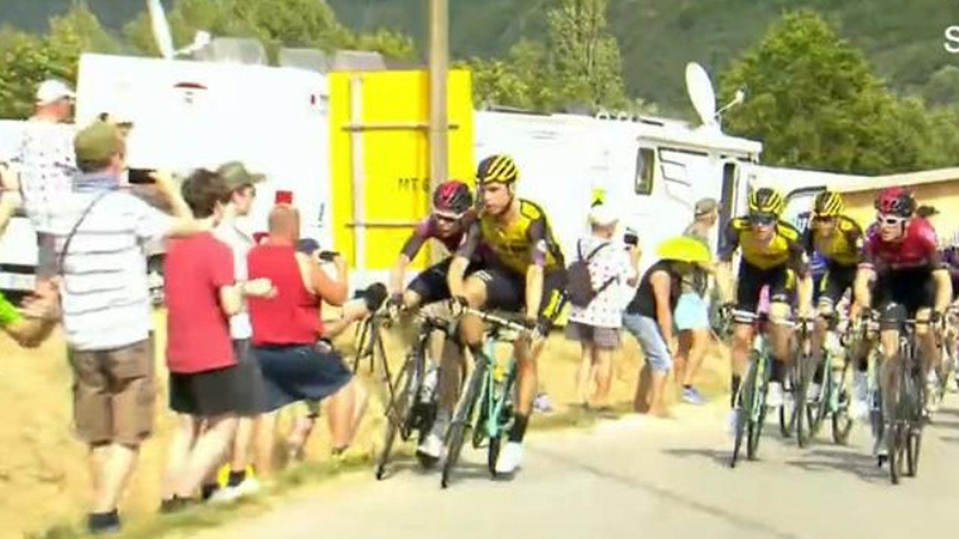 Duelling cyclist denied Tour reinstatement