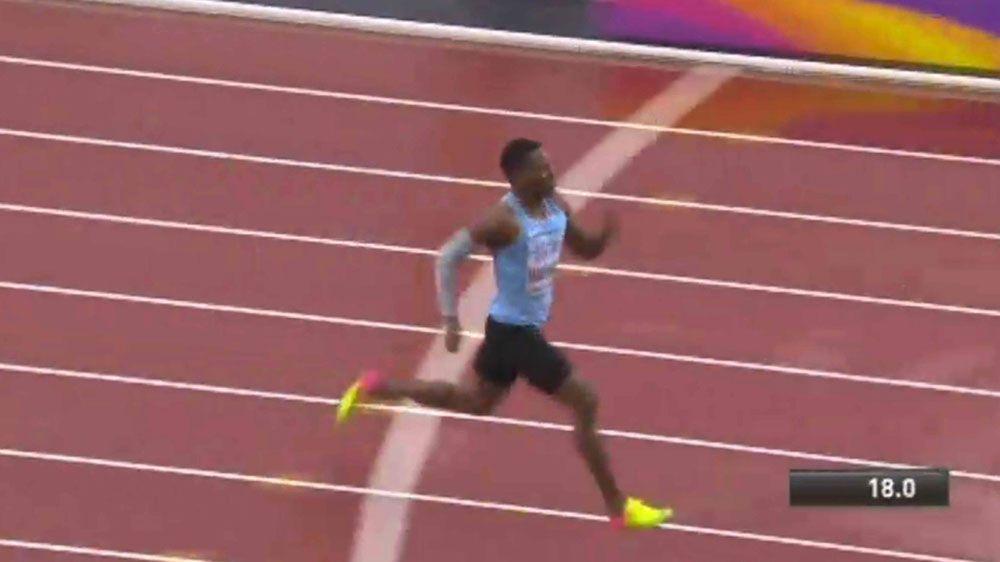 Makwala in loneliest race at world titles