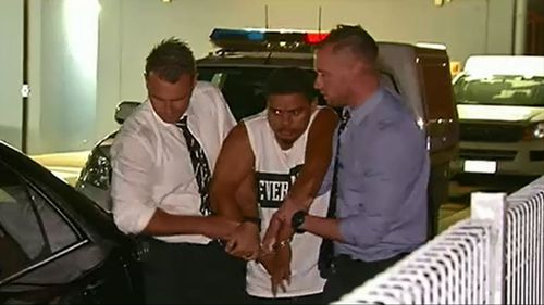 A man has been arrested over an armed robbery at Kedron last week.