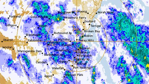 Wind gusts up to 100km/h forecast to hit Sydney, Hunter and Illawarra regions this afternoon