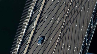 Dream commute over the ANZAC Bridge