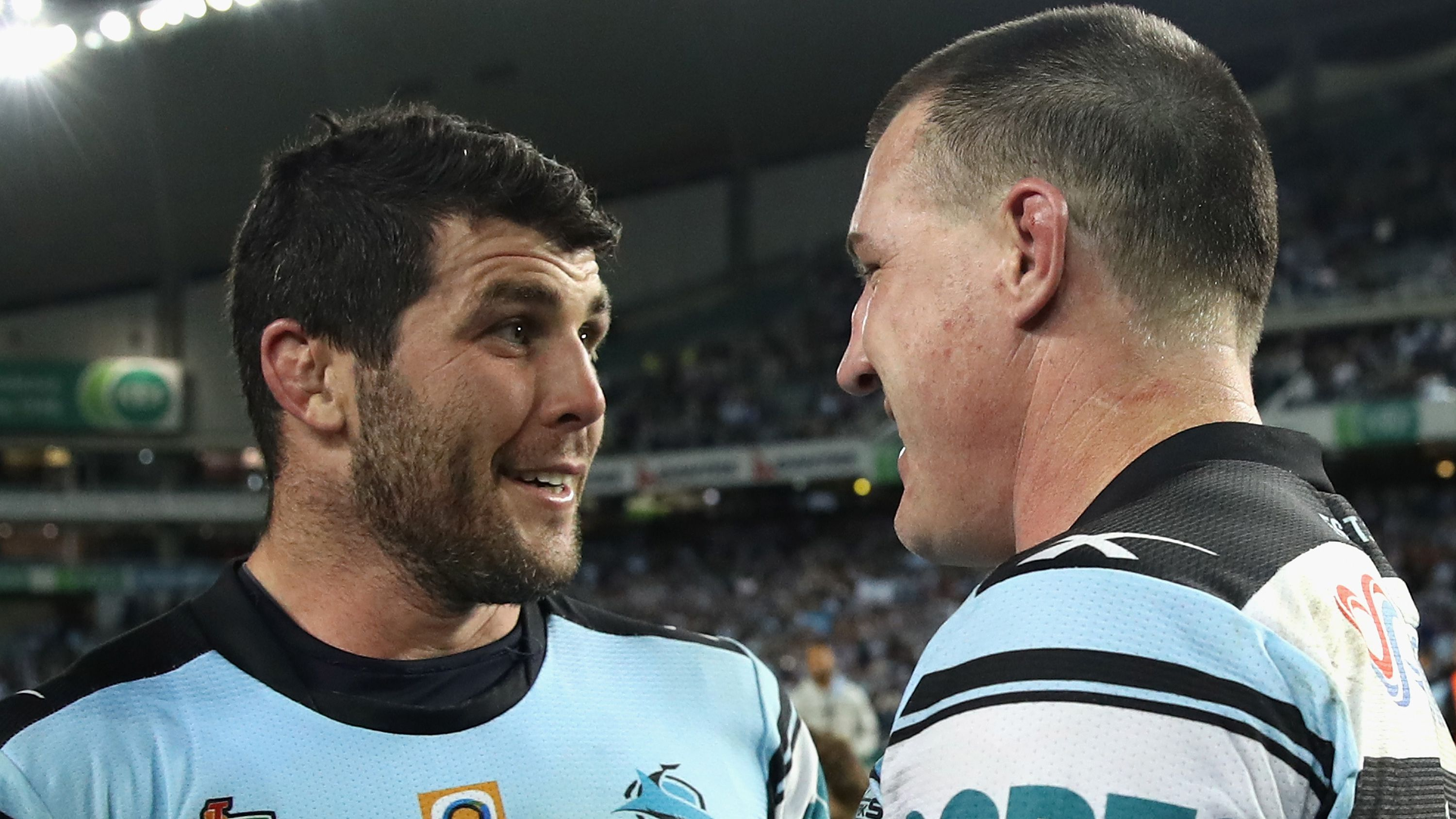 Mick Ennis and Paul Gallen