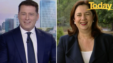 The admission left Annastacia Palaszczuk in stitches.