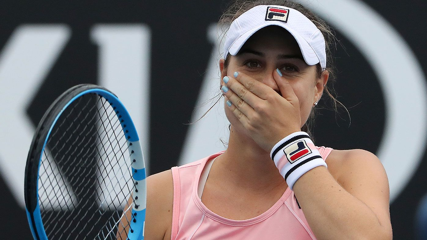 Kimberly Birrell admits to being nervous in win over Donna Vekic