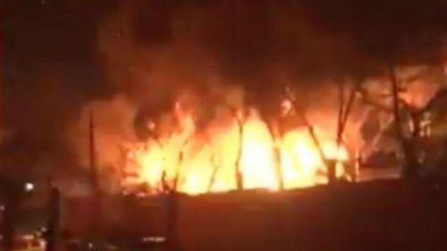 The blast reportedly occurred near military barracks in Ankara.