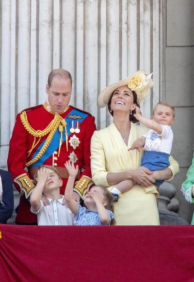 The whole Cambridge family