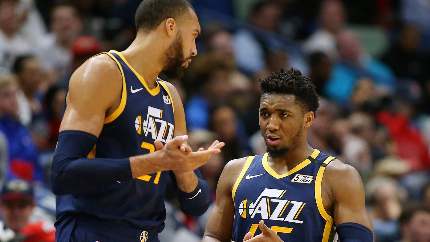 Utah Jazz duo Donovan Mitchell and Rudy Gobert officially cleared of coronavirus
