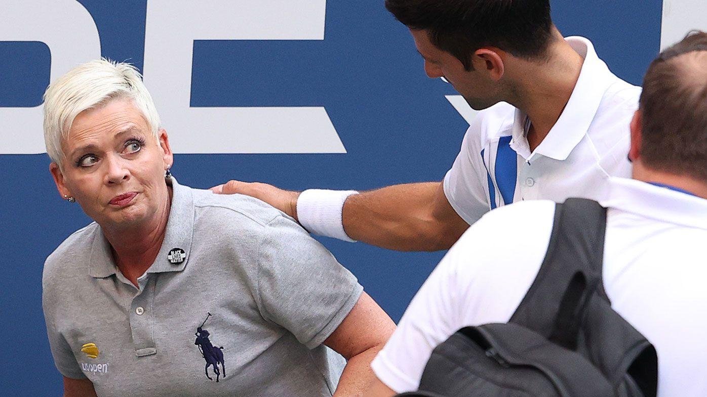Novak Djokovic fined after US Open default for hitting line judge, prize money stripped