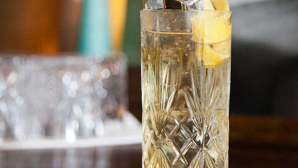 Glen Grant whisky highball