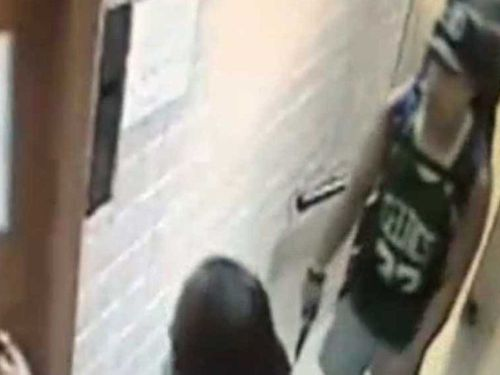 CCTV footage of Rye Hunt in Brazil last month