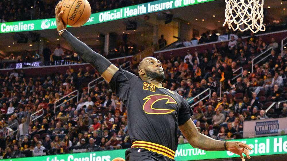 NBA: 'King James' makes slamming return to NBA