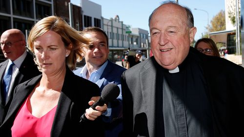 Philip Wilson has not said whether he will continue as Archbishop of Adelaide before the verdict. (AAP)