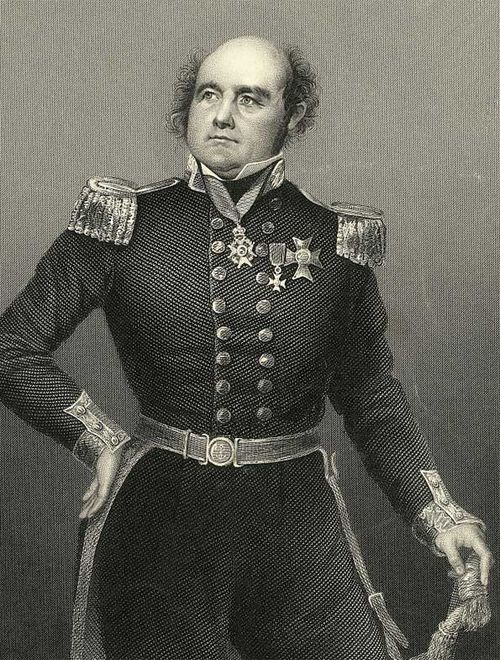 John Franklin served as lieutenant-governor of Van Diemen's Land (Tasmania) before his ill-fated voyage to the Arctic.