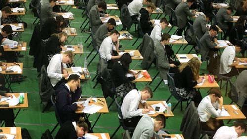 NAPLAN today children sitting exam
