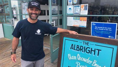 Greg Moreno Memorial Day cafe owner