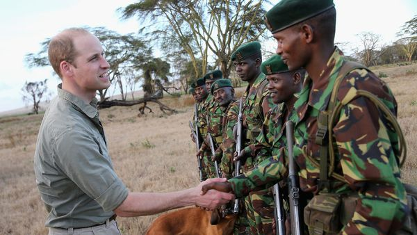 Prince William in Africa