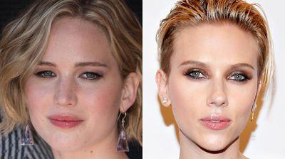 "<p _tmplitem=""6"">Jennifer Lawrence and Scarlett Johansson's almond-shaped eyes were the top scorers for women. </p><p _tmplitem=""6""></p>"