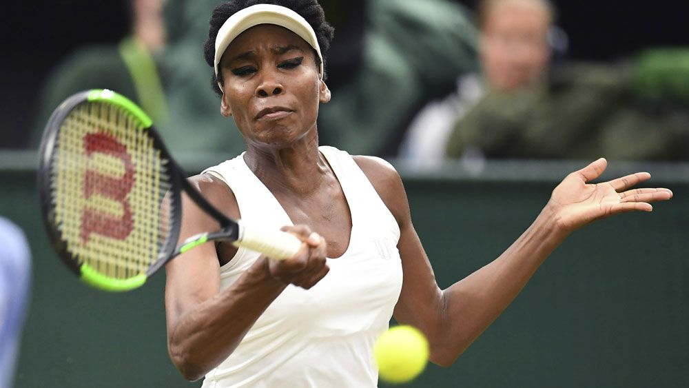 Venus Williams fights to keep trophy in the family after quarter-final win at Wimbledon