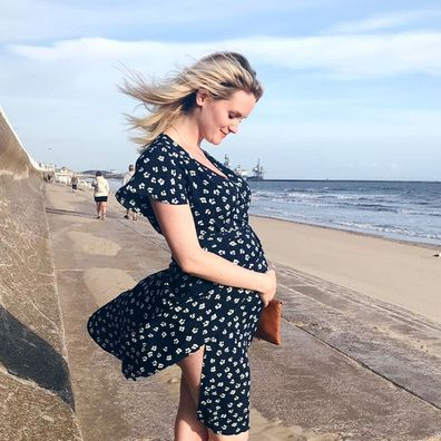 Michael Sheen's girlfriend Anna Lundberg shares baby bump photo