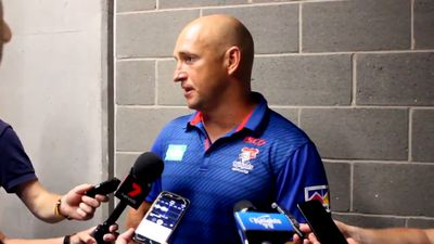 NRL news: Knights coach Nathan Brown says Newcastle is 'over-hyped'