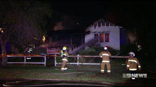 Police are investigating whether the fire was deliberately lit.