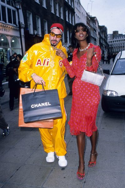 With Ali G in London, March 2000