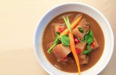 "Recipe: <a href=""http://kitchen.nine.com.au/2017/08/07/17/58/malcolm-lee-babi-pongteh"" target=""_top"">Malcolm Lee's babi pongteh (Peranakan style slow braised pork)</a>"