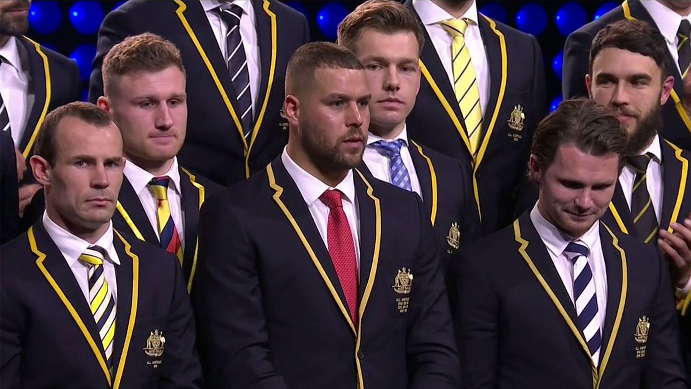 Franklin named AFL All-Australian captain