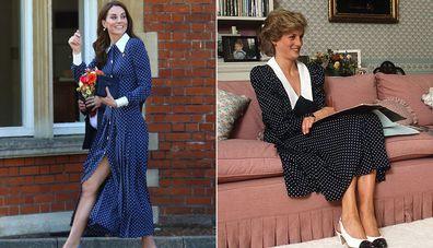 Kate Middleton Princess Diana tribute