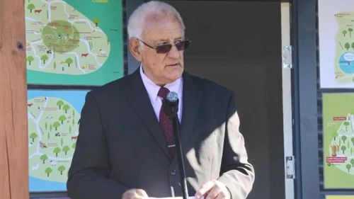 The former mayor, who is still on the council, praised the camp, Frank said.