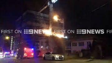 Children 'lit blaze' that tore through Brisbane building
