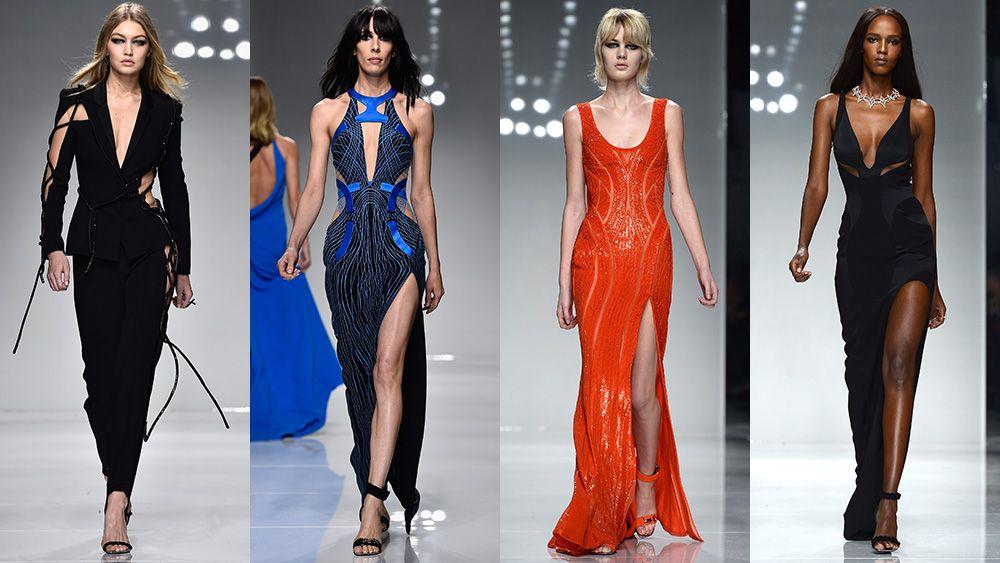 Atelier Versace Haute Couture spring/summer 2016 runway