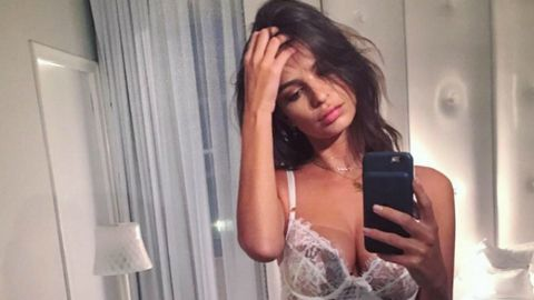 Emily Ratajkowski's personal nude photos targeted by hackers.
