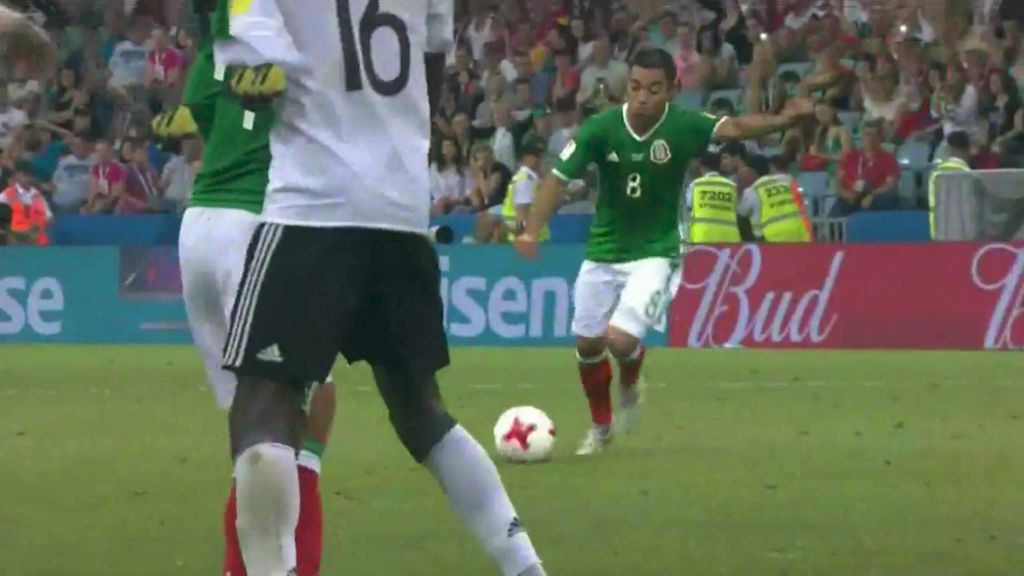 Mexico substitute Marco Fabian scores stunner against Germany in Confederations Cup semi-final