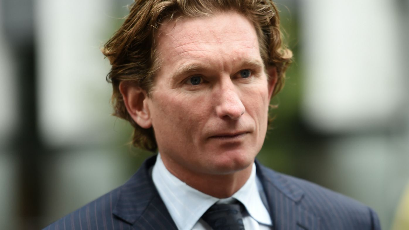 James Hird visits court