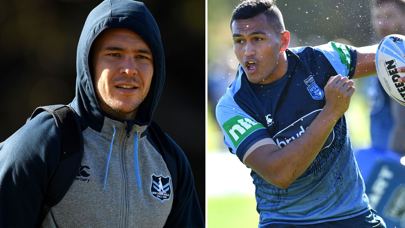 David Klemmer (left) and Daniel Saifiti (right)