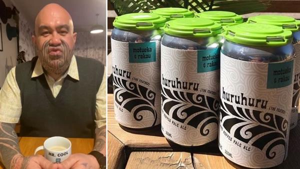 TeHamus Nikora blasts Canadian brewery's beer, Huruhuru