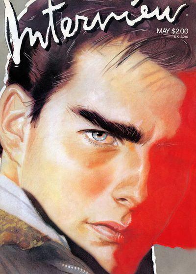 Tom Cruise, <em>Interview</em> Magazine May 1986