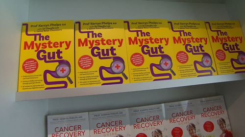 Professor Kerryn Phelps wrote The Mystery Gut with her daughter, clinical dietitian Jamie Rose Chambers, and Dr Claudia Lee.