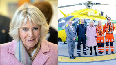 Camilla, Duchess of Cornwall officially opens Chippenham airbase, December 2018
