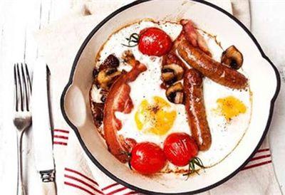Individual English breakfasts