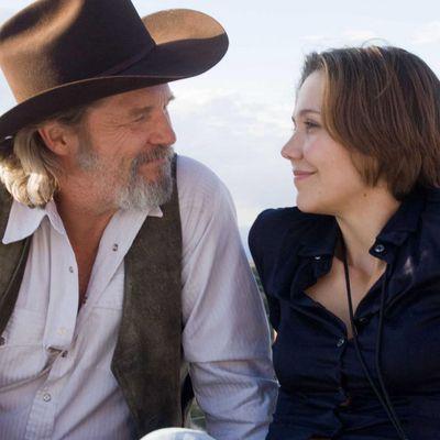 <p>Jeff Bridges and Maggie Gyllenhaal in <em>Crazy Heart</em></p><p><em> </em><strong>Age gap:</strong>27 years, 11 1/2 months</p>