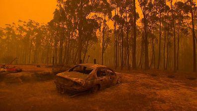 Bushfire crisis in Eden